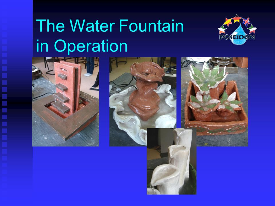 The Water Fountain in Operation