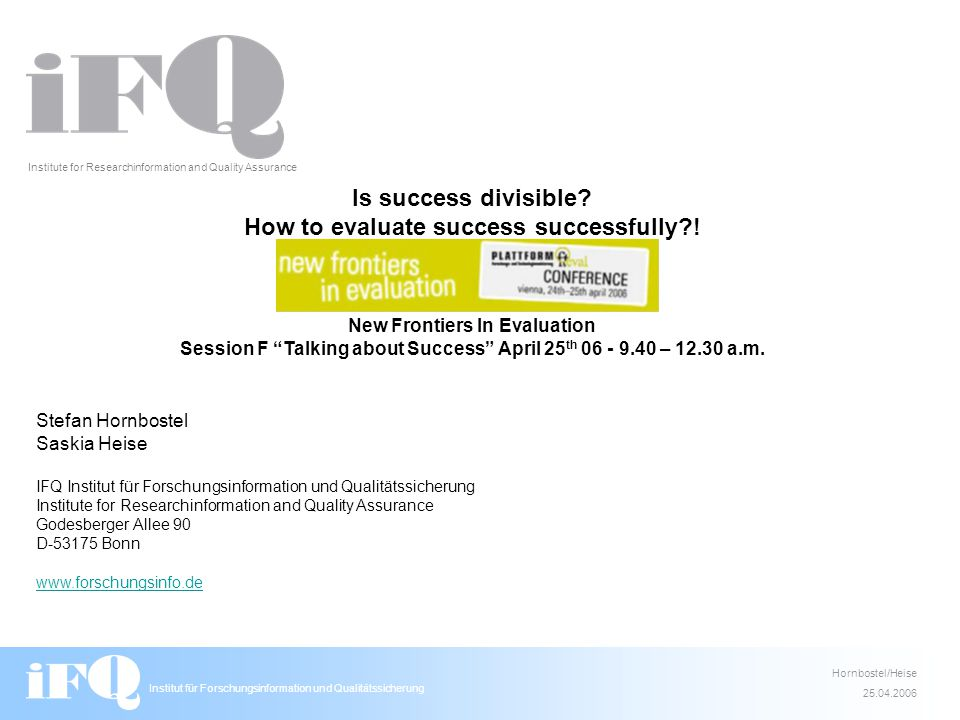Is success divisible. How to evaluate success successfully .