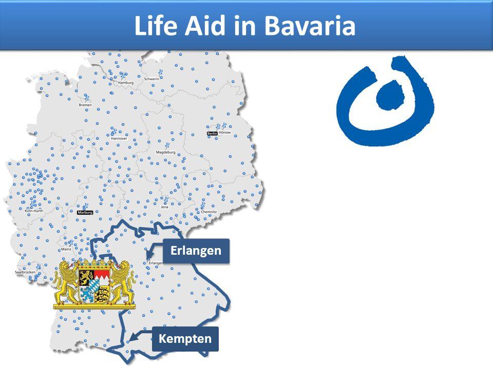 Erlangen Kempten Life Aid in Bavaria