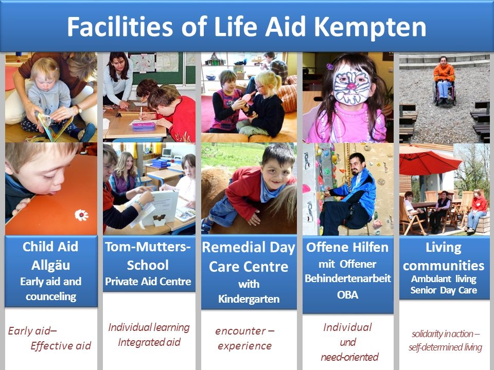 Early aid– Effective aid Tom-Mutters- School Private Aid Centre Tom-Mutters- School Private Aid Centre Remedial Day Care Centre with Kindergarten Reme