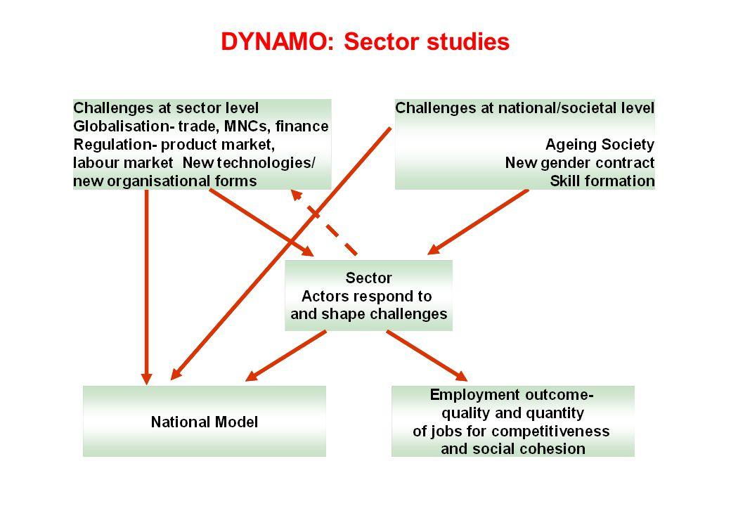 DYNAMO: Sector studies