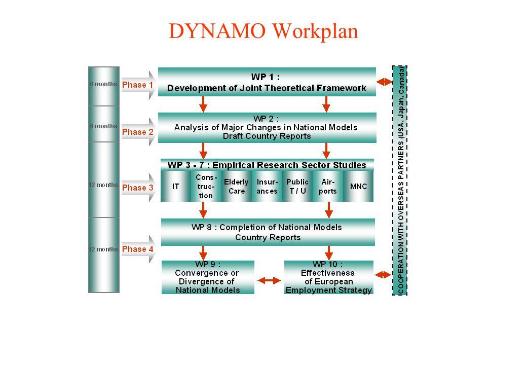 DYNAMO Workplan