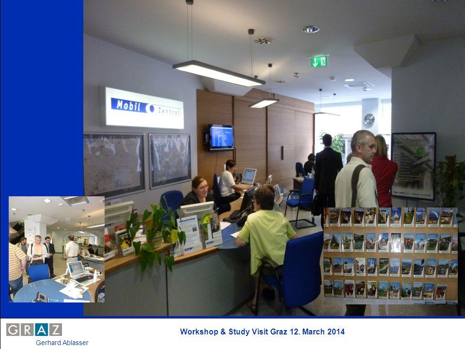 Workshop & Study Visit Graz 12. March 2014 Gerhard Ablasser