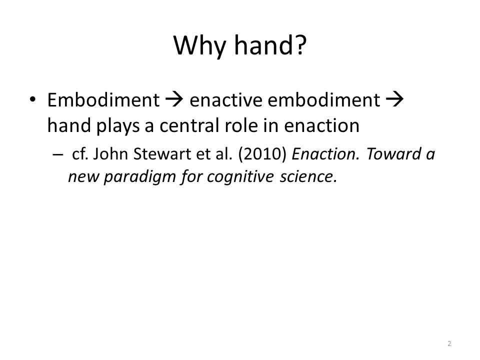 7.Conclusion - Hand is a productive source (and target) domain for figurative expressions.