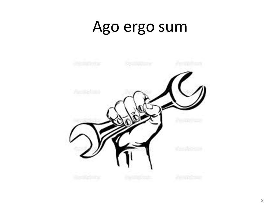 Ago ergo sum 8