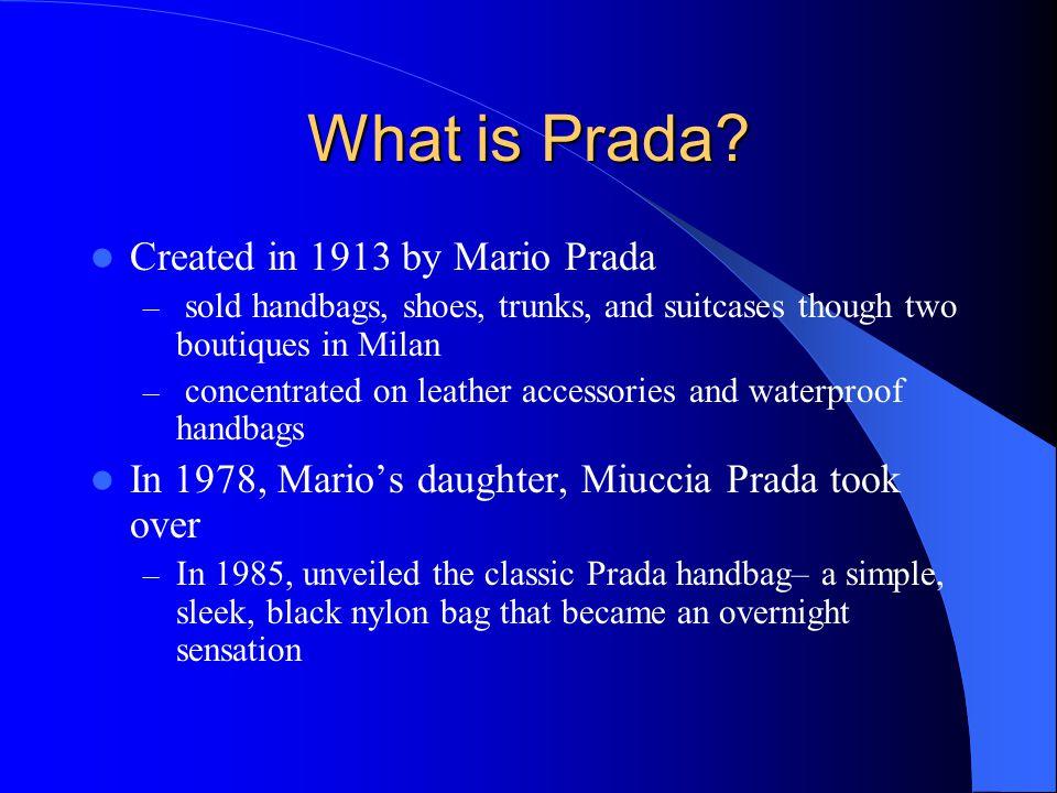 What is Prada.