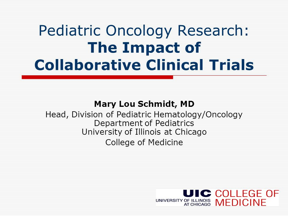 Important Concepts Pediatric Oncology Partnerships have led to dramatic gains against childhood cancer: (age <15 yrs: survival 80%) 2/3 of survivors of childhood cancer have a major disability by 25 years of age 15-45 year olds have had NO improvement in their survival from cancer in the last 30 years.
