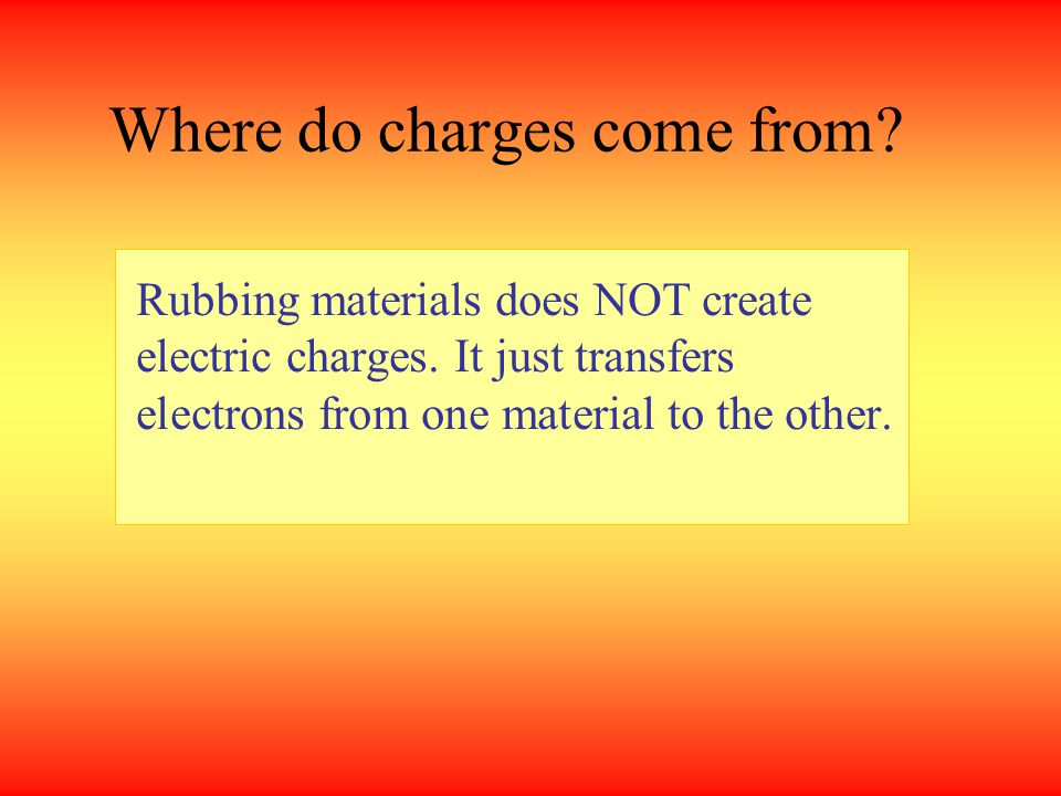 1If the balloon can attract some paper scraps, which of the following cannot be the charge of paper scraps.