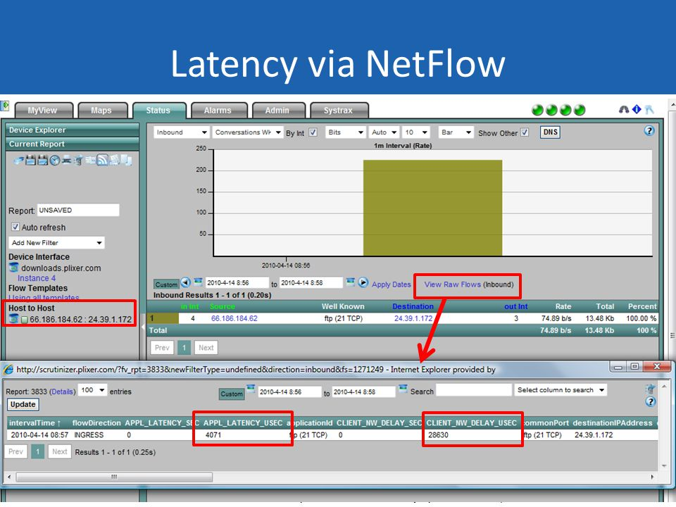 SHARKFEST 10 | Stanford University | June 14–17, 2010 Latency via NetFlow