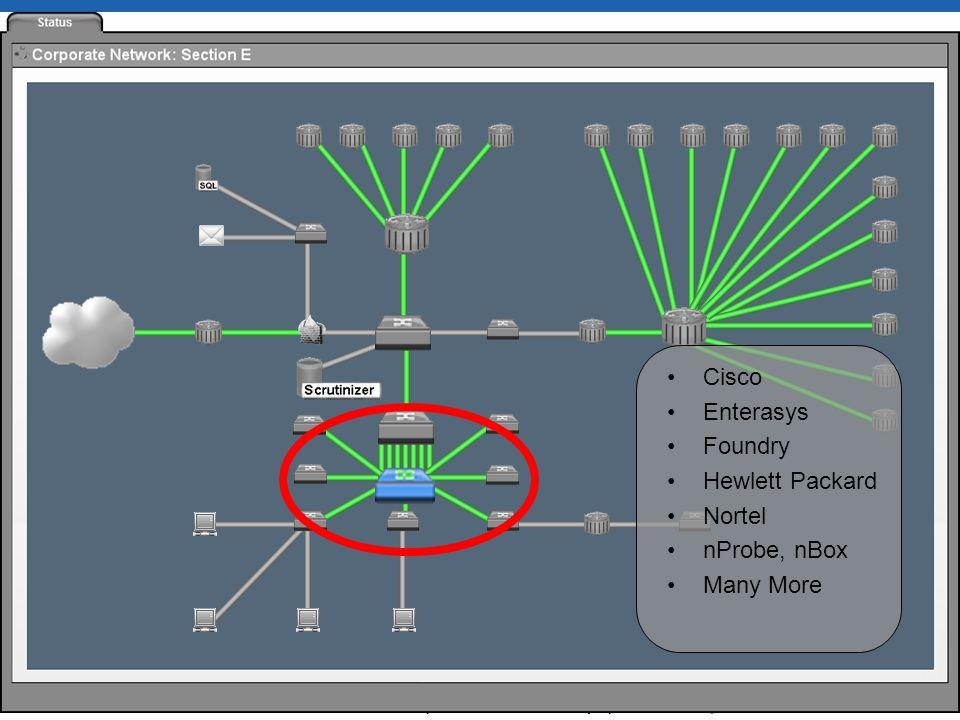 SHARKFEST 10 | Stanford University | June 14–17, 2010 MAC Addresses and VLAN IDs MAC addresses via Cisco Flexible NetFlow (aka NetFlow v9)