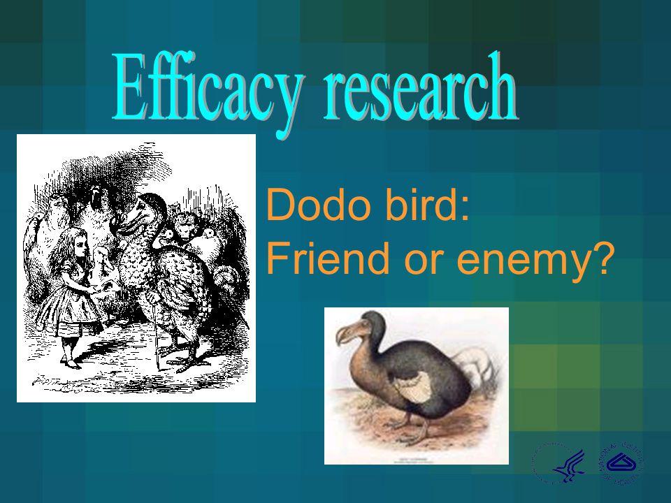Dodo bird: Friend or enemy?