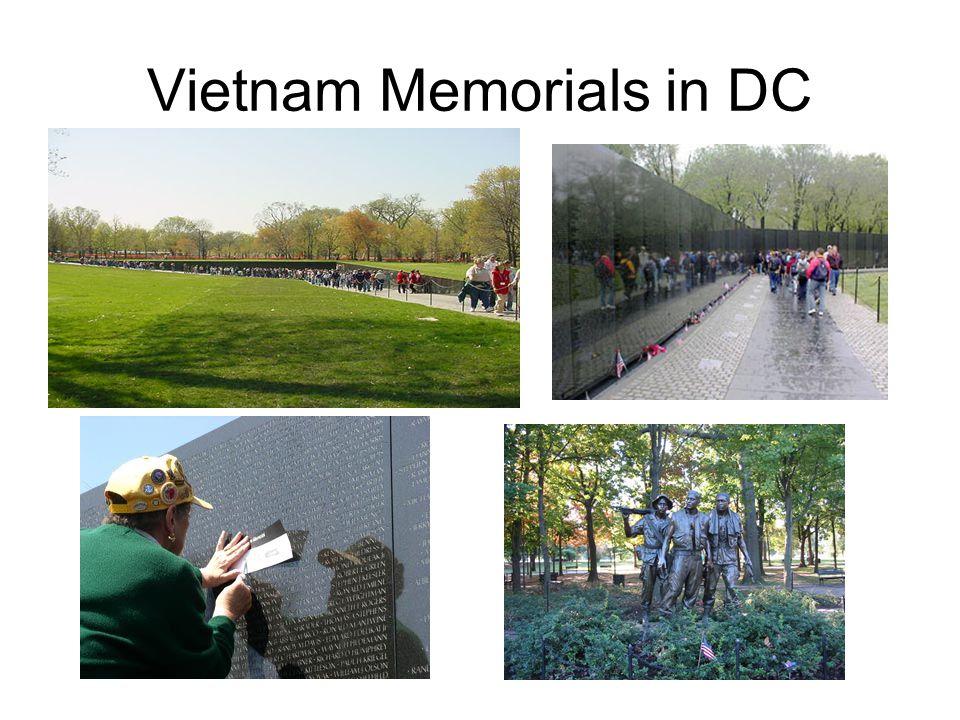 Vietnam Memorials in DC