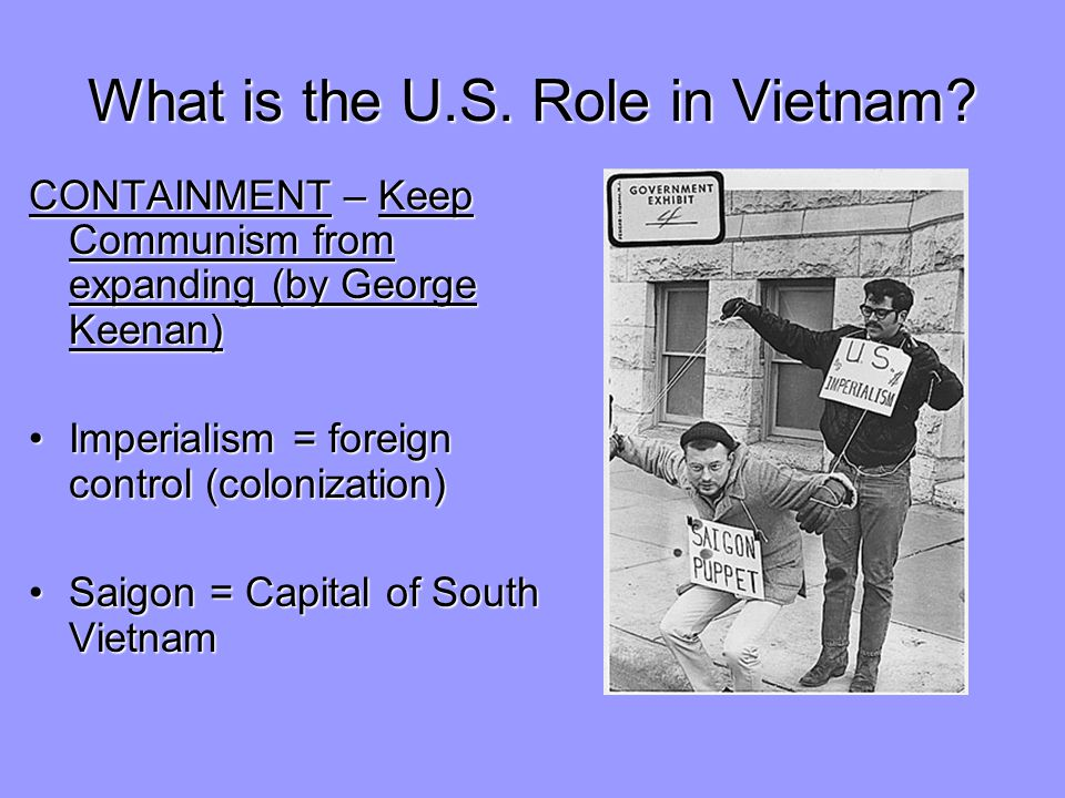 What is the U.S.Role in Vietnam.