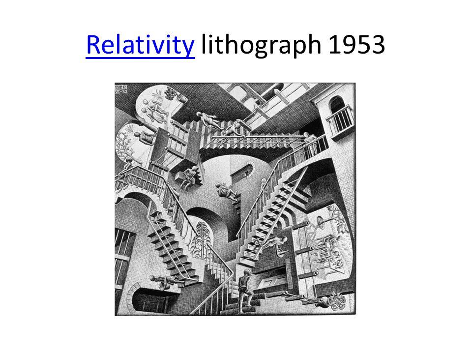 RelativityRelativity lithograph 1953