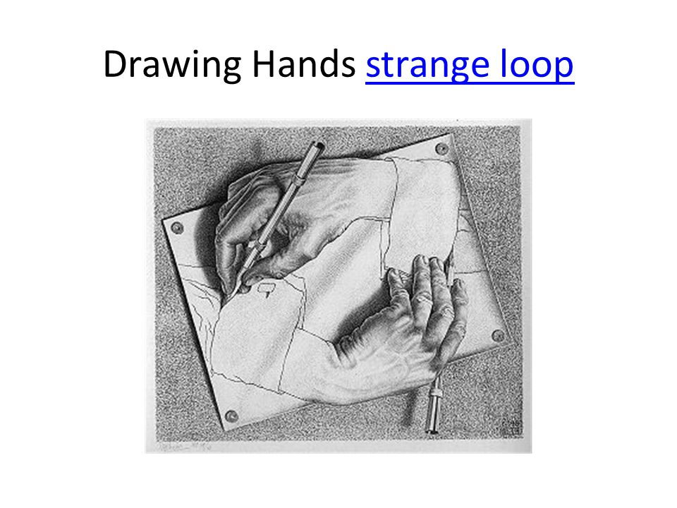 Drawing Hands strange loopstrange loop