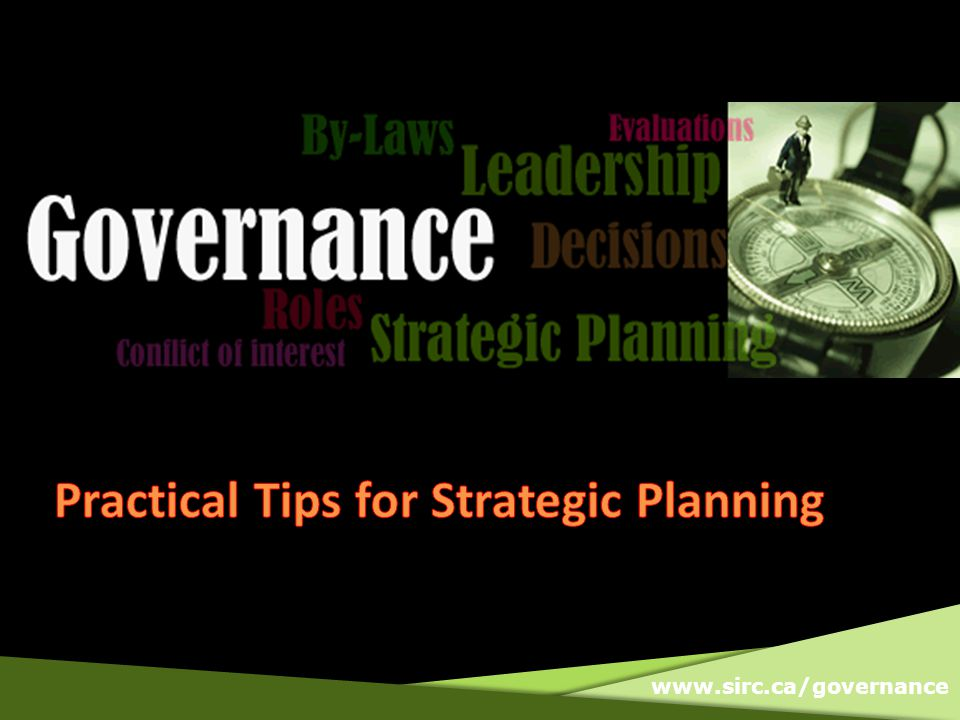 What do you think is the most important element for successful strategic planning?