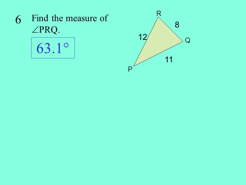7 Find the area of quadrilateral ABCD: 113 cm 2