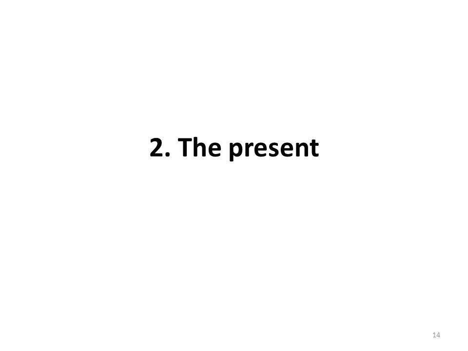 2. The present 14
