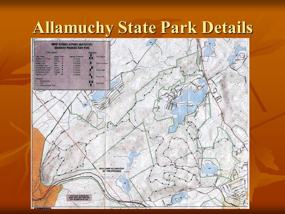 Allamuchy State Park Details