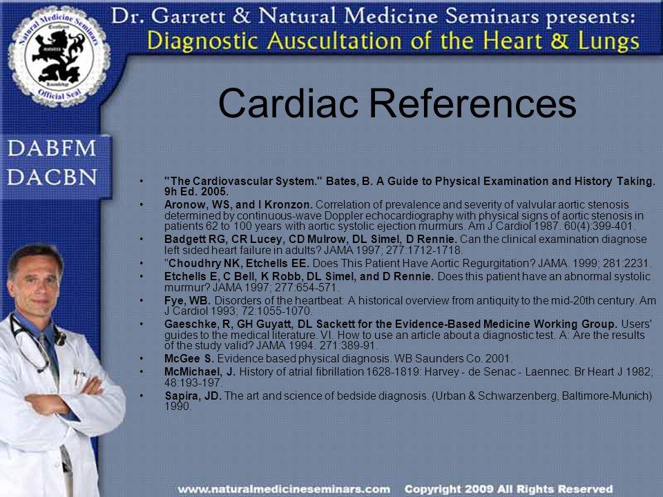 Cardiac References