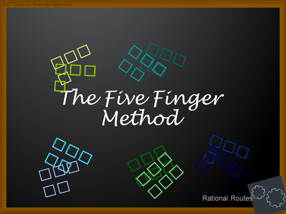 The Five Finger Method Who . Wha t. How . Whe re.