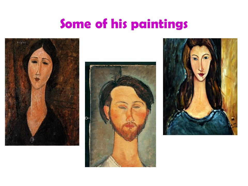 Some of his paintings