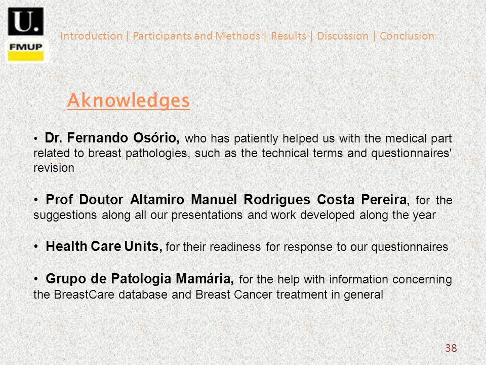 38 Aknowledges Dr.