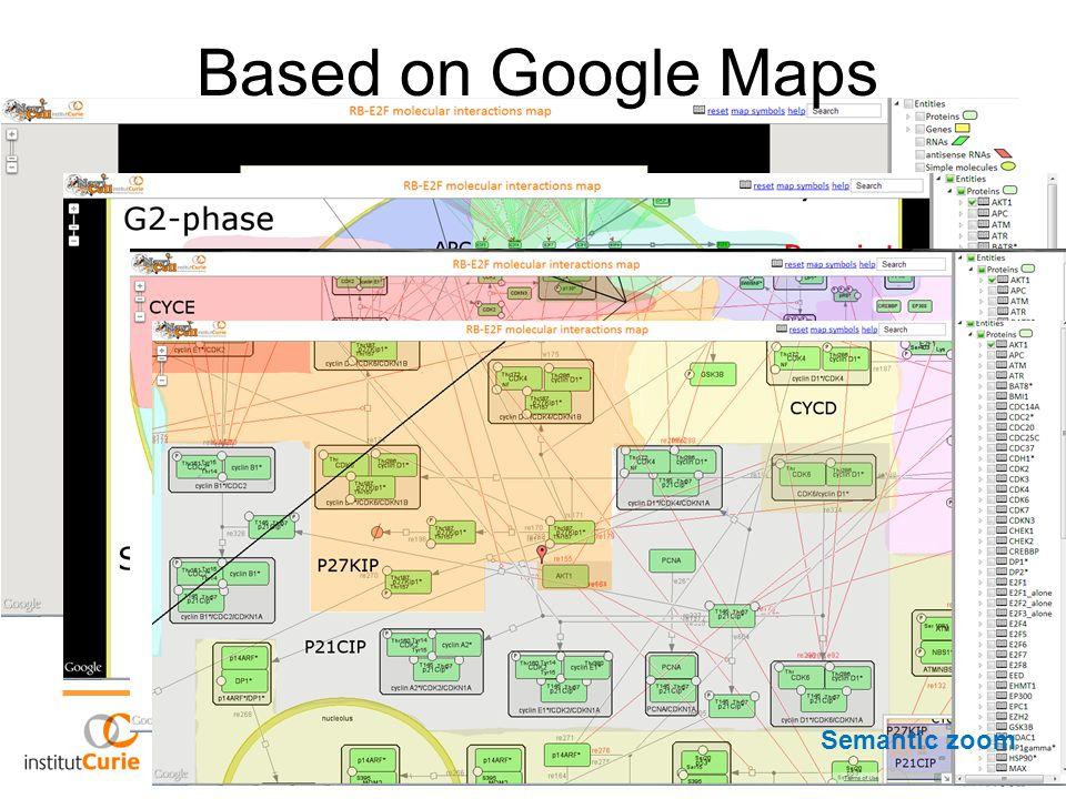 Based on Google Maps Semantic zoom