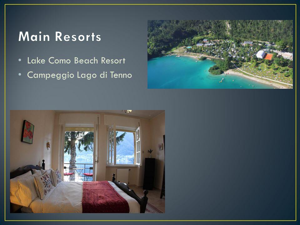 Lake Como Beach Resort Campeggio Lago di Tenno