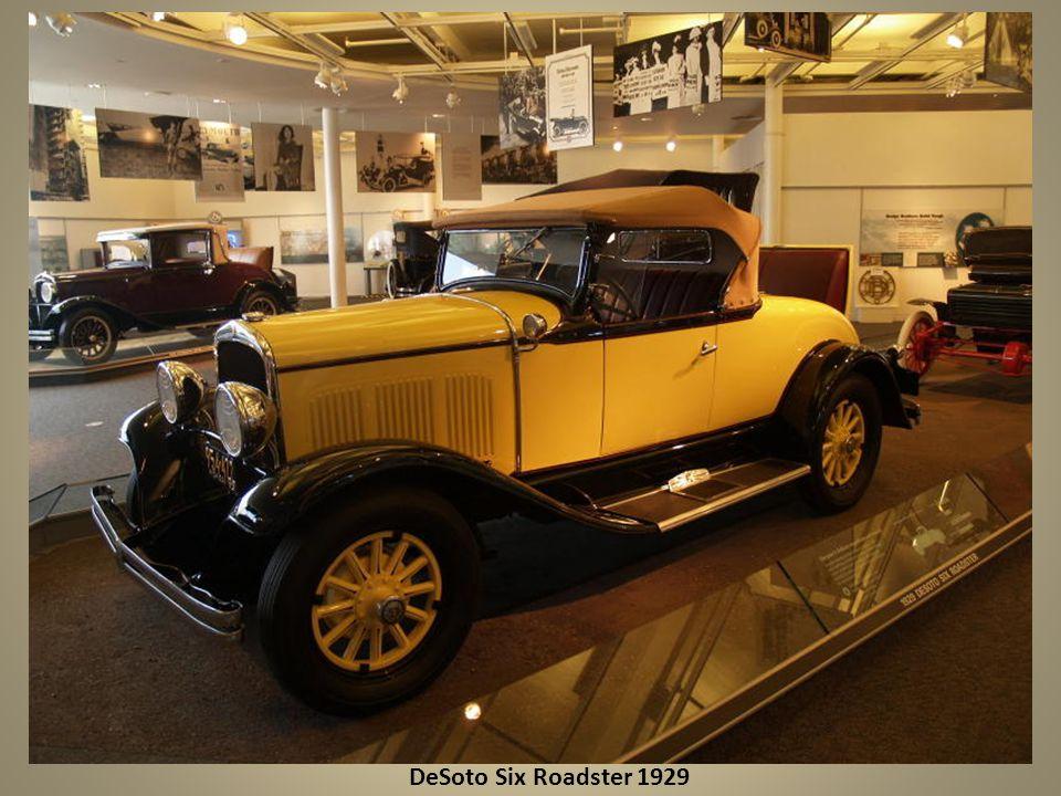 DeSoto Six Roadster 1929