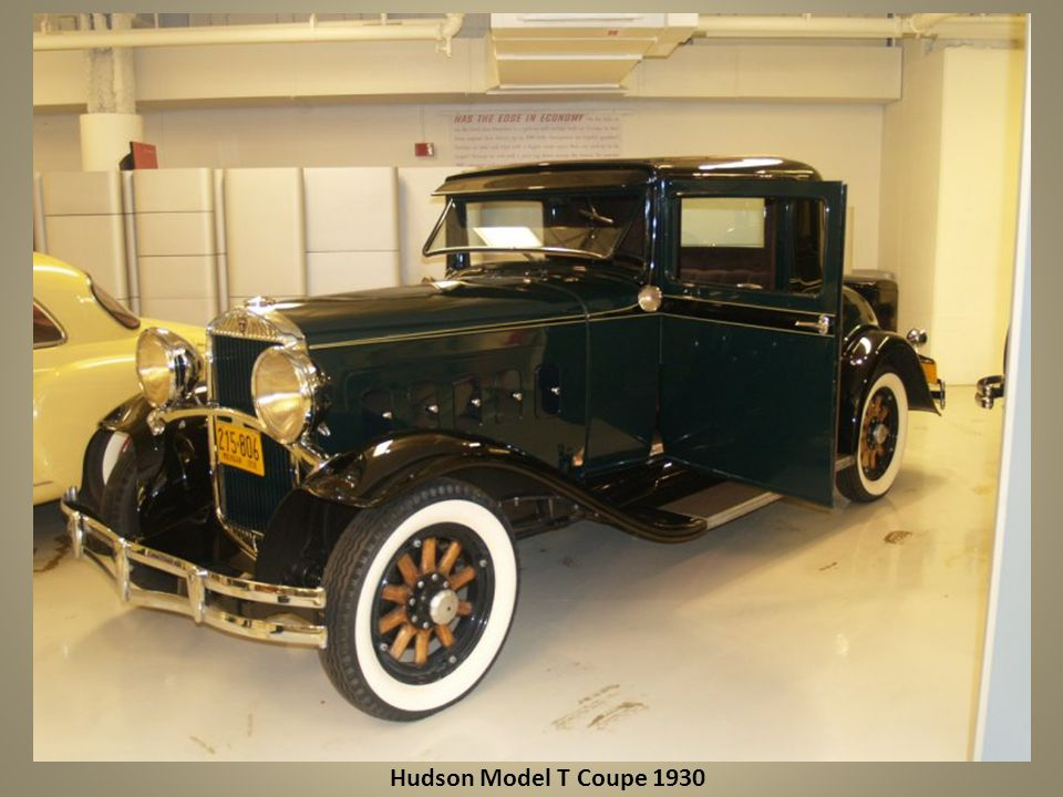 Hudson Model T Coupe 1930