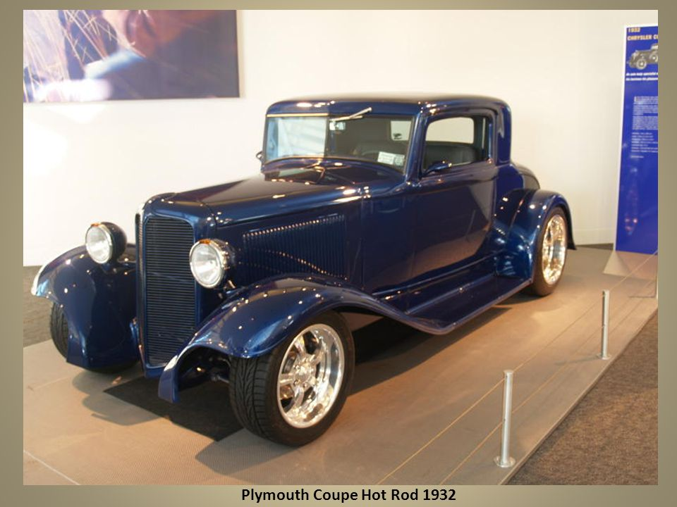 Plymouth Coupe Hot Rod 1932
