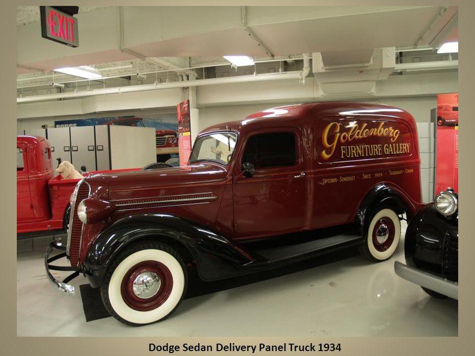 Dodge Sedan Delivery Panel Truck 1934