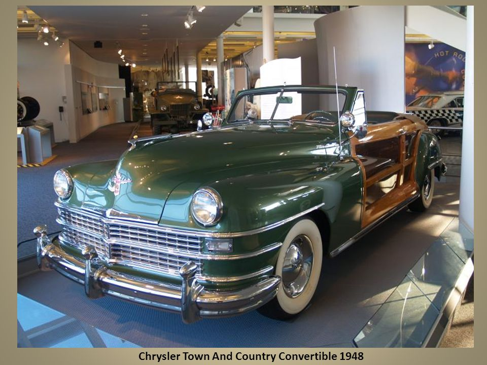 Chrysler Town And Country Convertible 1948