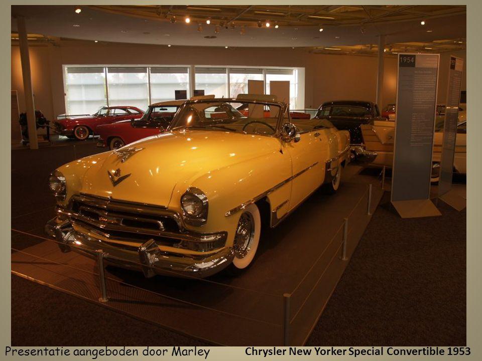Chrysler New Yorker Special Convertible 1953 Presentatie aangeboden door Marley
