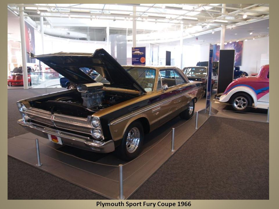 Plymouth Sport Fury Coupe 1966