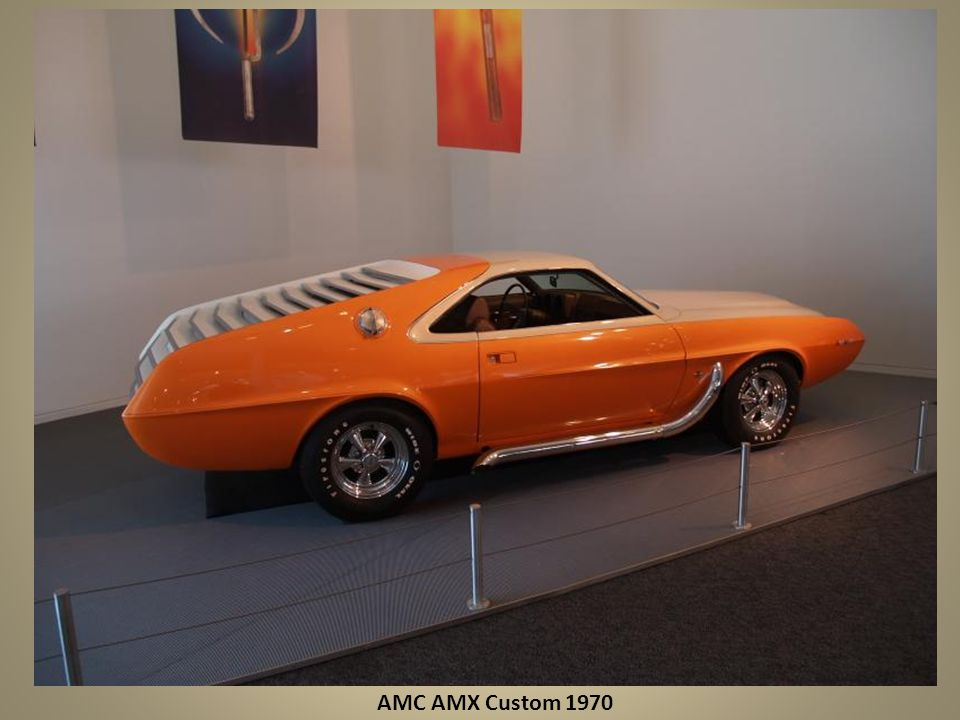 AMC AMX Custom 1970