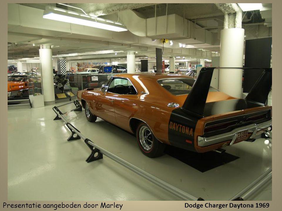 Dodge Charger Daytona 1969 Presentatie aangeboden door Marley