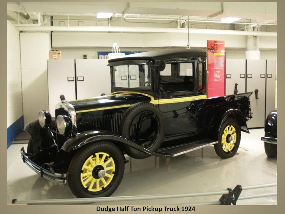Dodge Half Ton Pickup Truck 1924