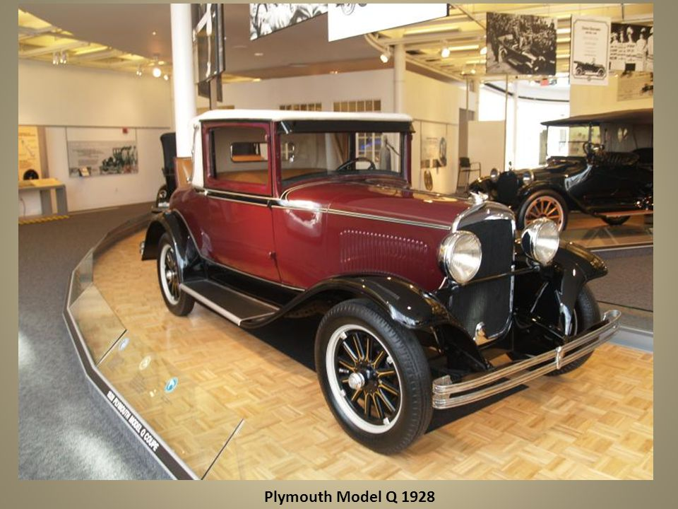 Plymouth Model Q 1928