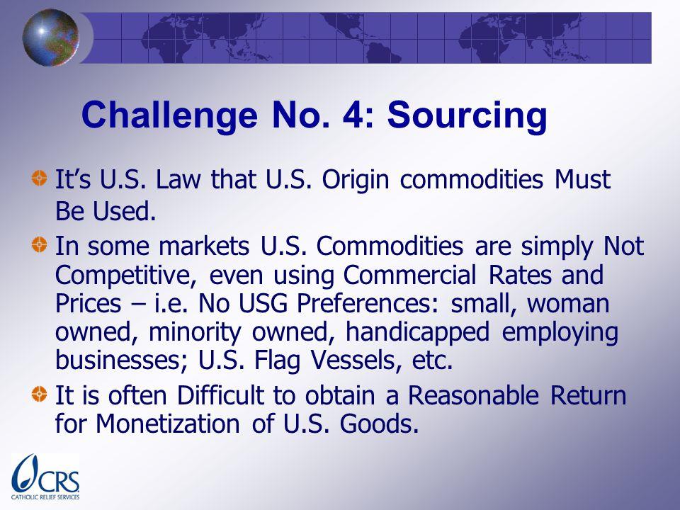 Challenge No. 4: Sourcing Its U.S. Law that U.S.
