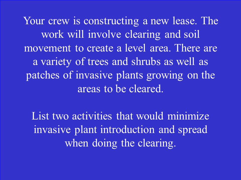 What is True? (Refer to Keep Equipment Clean Best Practice)