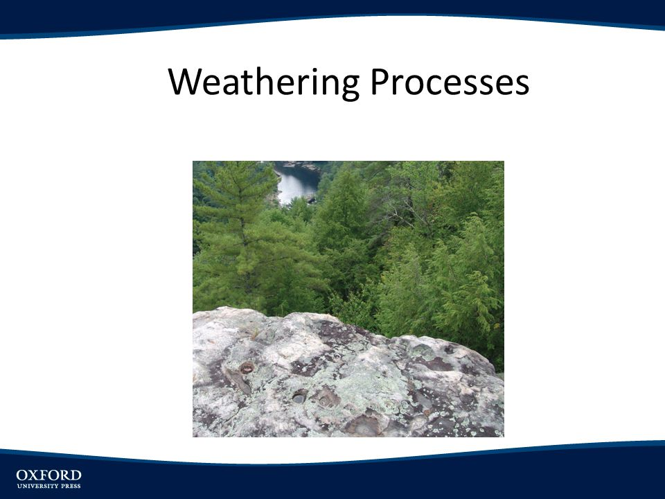 Objectives Explain major processes of mechanical weathering Describe reactions involved in chemical weathering and nature of weathering products Discuss concept of biological weathering Note environmental controls over weathering processes and how they influence geography of weathering