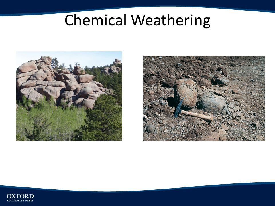 Chemical Weathering Reactions - Carbonation 1.