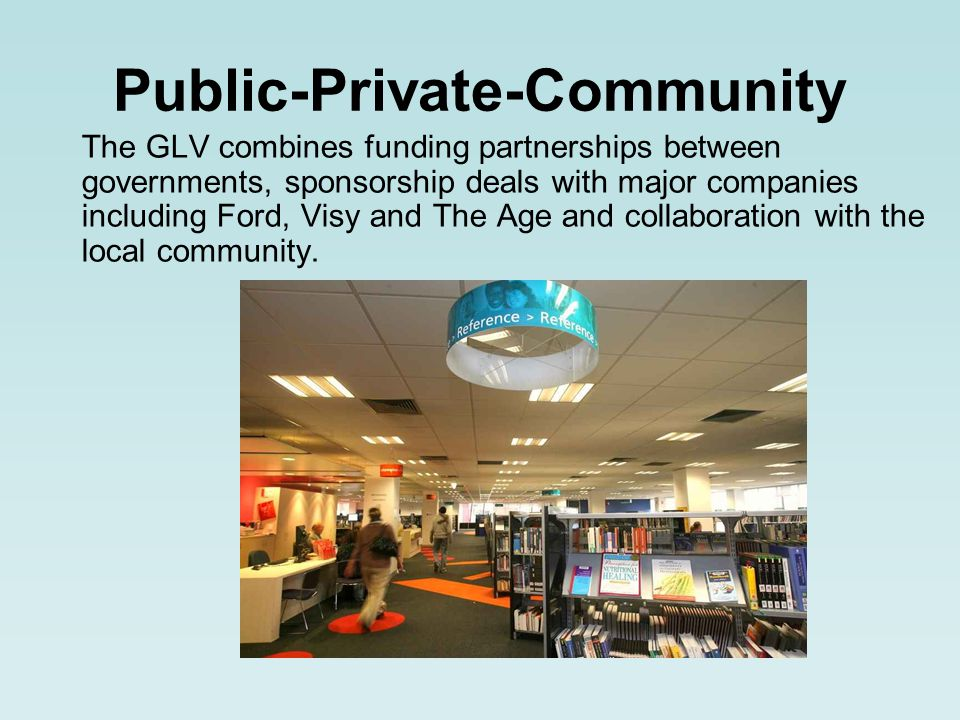 The GLV combines funding partnerships between governments, sponsorship deals with major companies including Ford, Visy and The Age and collaboration with the local community.