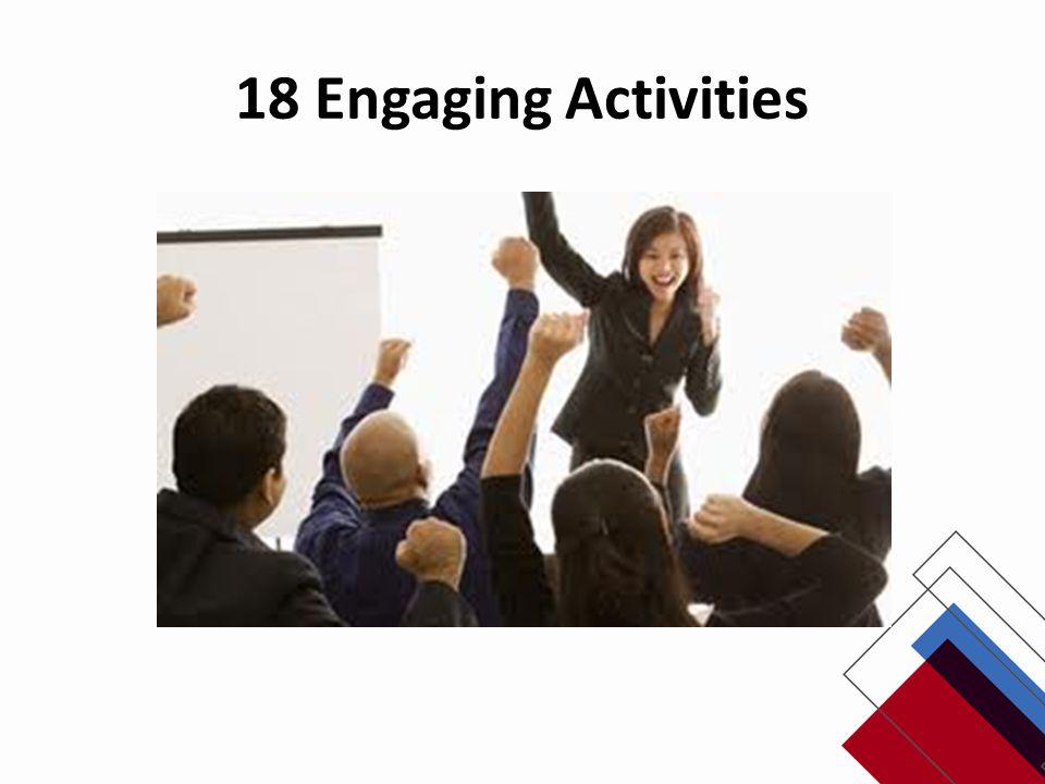 18 Engaging Activities