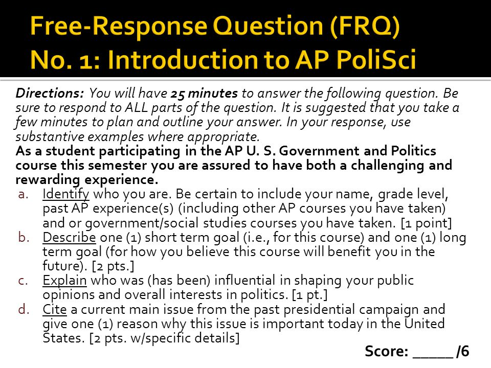 Prerequisite terms (Define for Warm-Up) ACA [1 pt ea.] Liberal [1] Conservative [1] Federalism [1] And 1 point for each answer to the BoR in Action.