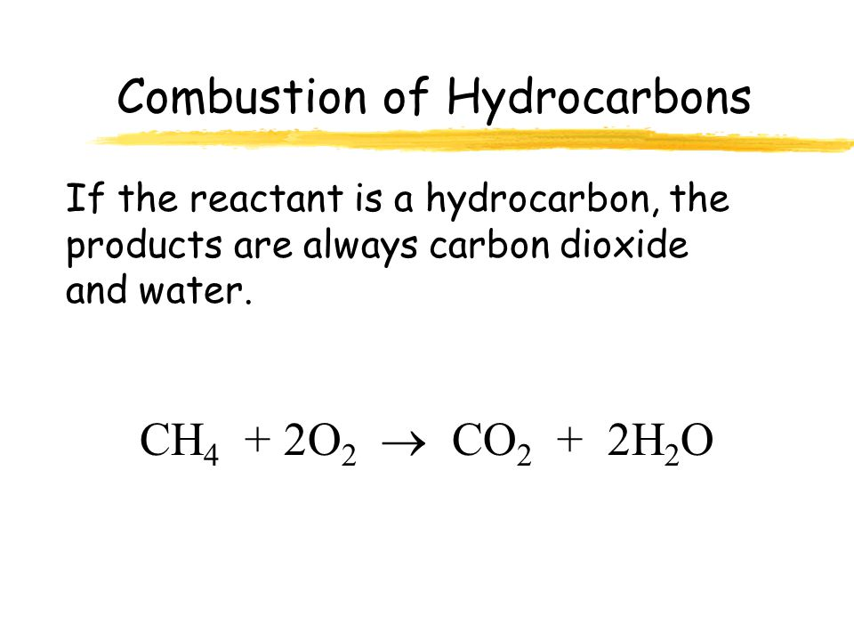 Combustion Reactions Definition: Reaction where an element or compound reacts with oxygen, often producing energy in the form of heat and light. Examp
