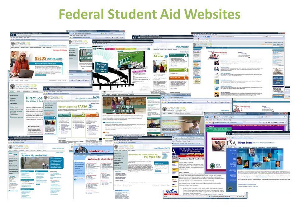 Federal Student Aid Websites