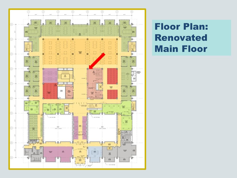 Floor Plan: Renovated Main Floor